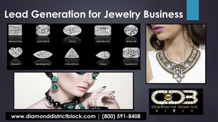 lead generation for jewelry business n.