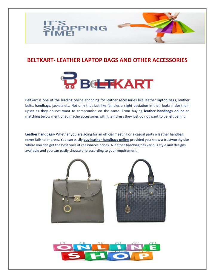 beltkart leather laptop bags and other accessories n.