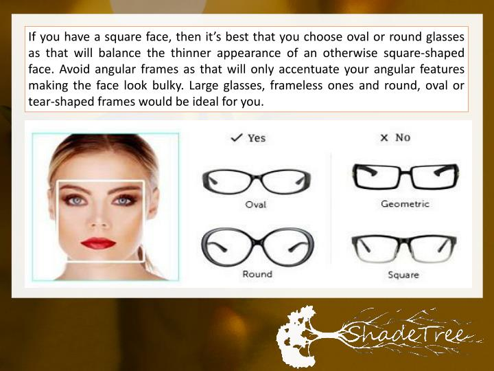 PPT - Choosing the Titanium and Wood Sunglasses to Suit Your Face ...