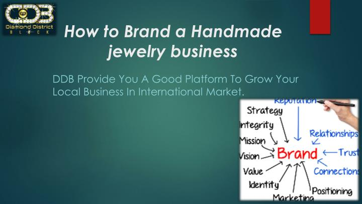 how to brand a handmade jewelry business n.