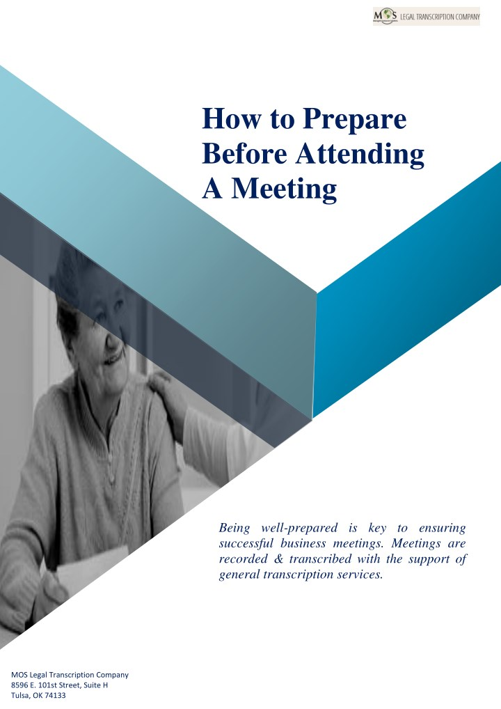 how to prepare before attending a meeting n.