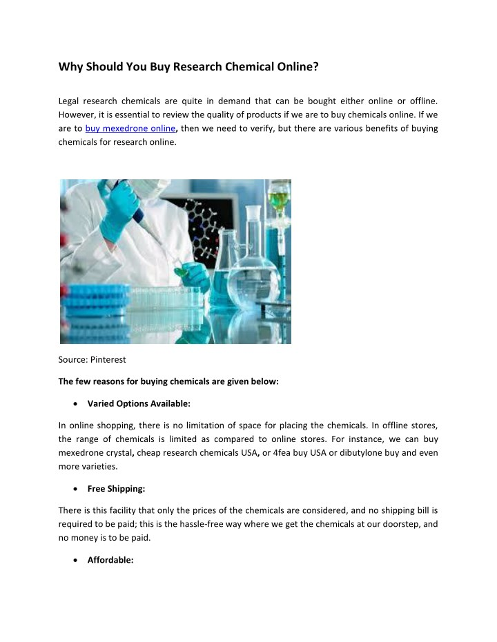 why should you buy research chemical online legal n.