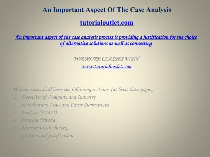 utiliscan case analysis Running header: utiliscan case analysis 1 utiliscan company conceptual plan brian mcfadden webster university utiliscan case analysis 2 abstract smaller companies in.
