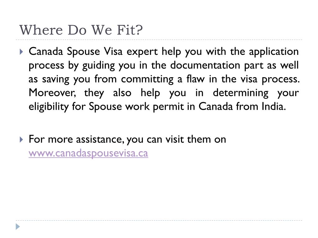 PPT - How Can You Bring Your Spouse in Canada From India