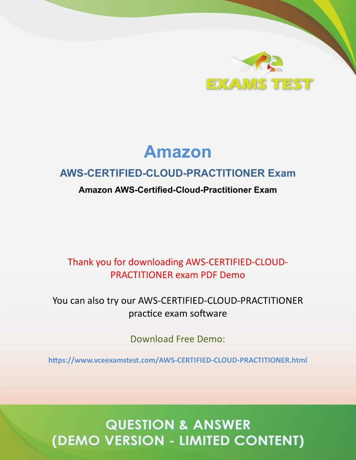 PPT - Get Valid Amazon AWS-Certified-Cloud-Practitioner VCE