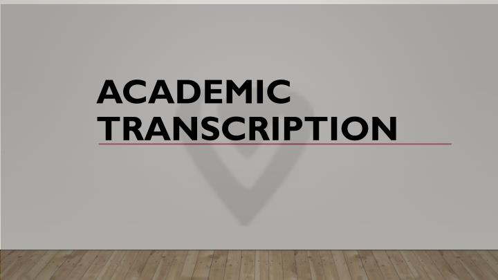 academic transcription what s our advantage The transcription kit is ideal for transcription of digitally recorded documents the transcription kit comes with a usb foot pedal, transcription headset, transcription software and telephone support from martel.
