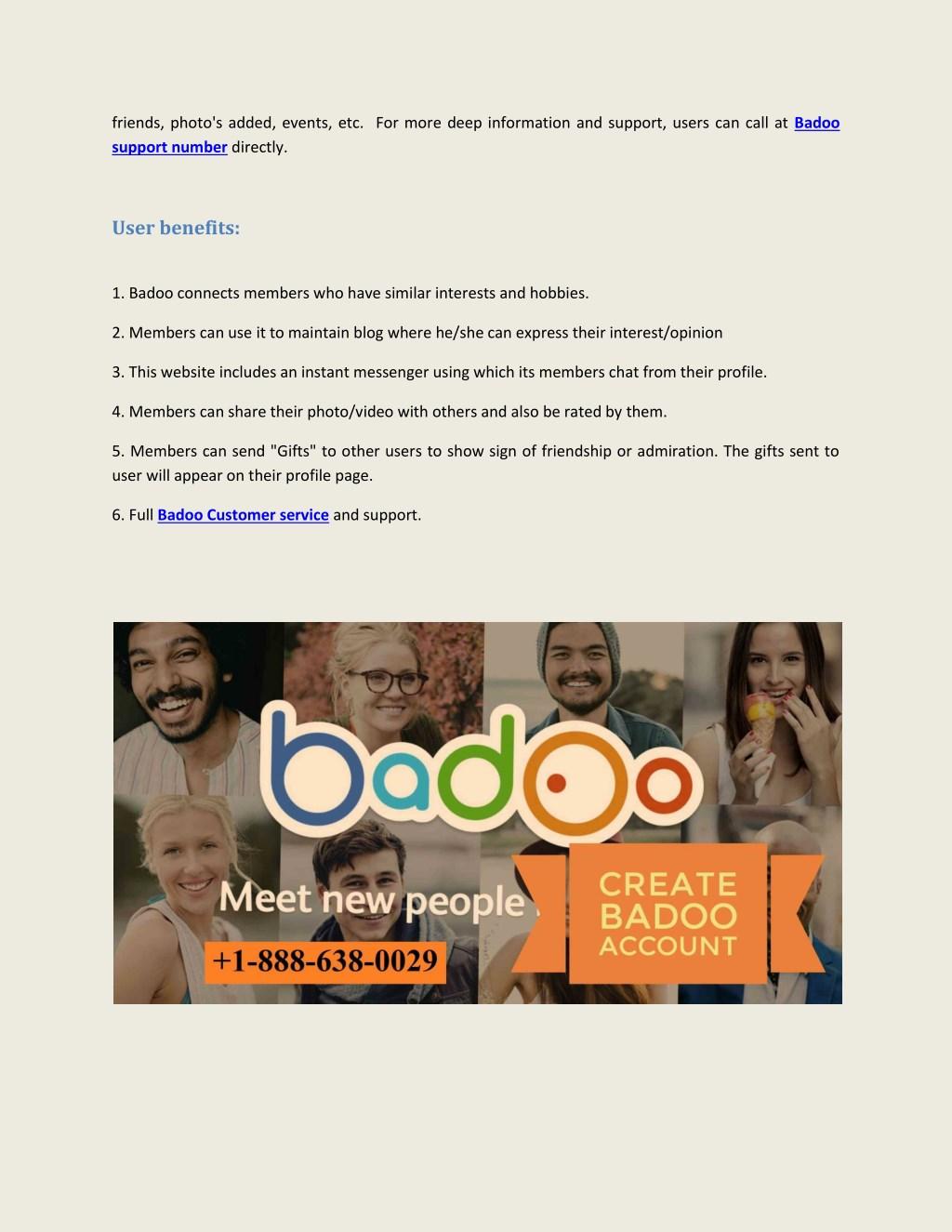 PPT - Badoo customer help service PowerPoint Presentation