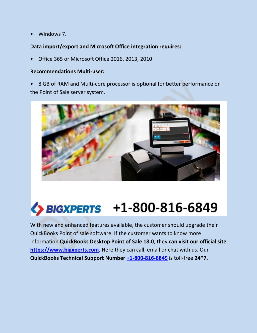 PPT - QuickBooks Desktop Point of Sale 18 0 Terms of Service
