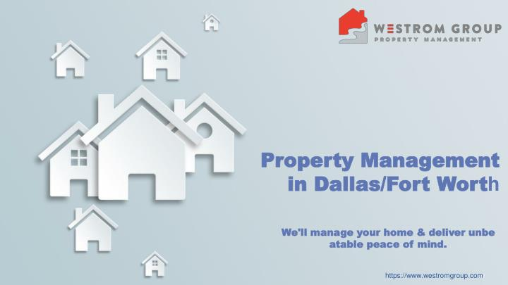 property management in dallas fort wort h n.