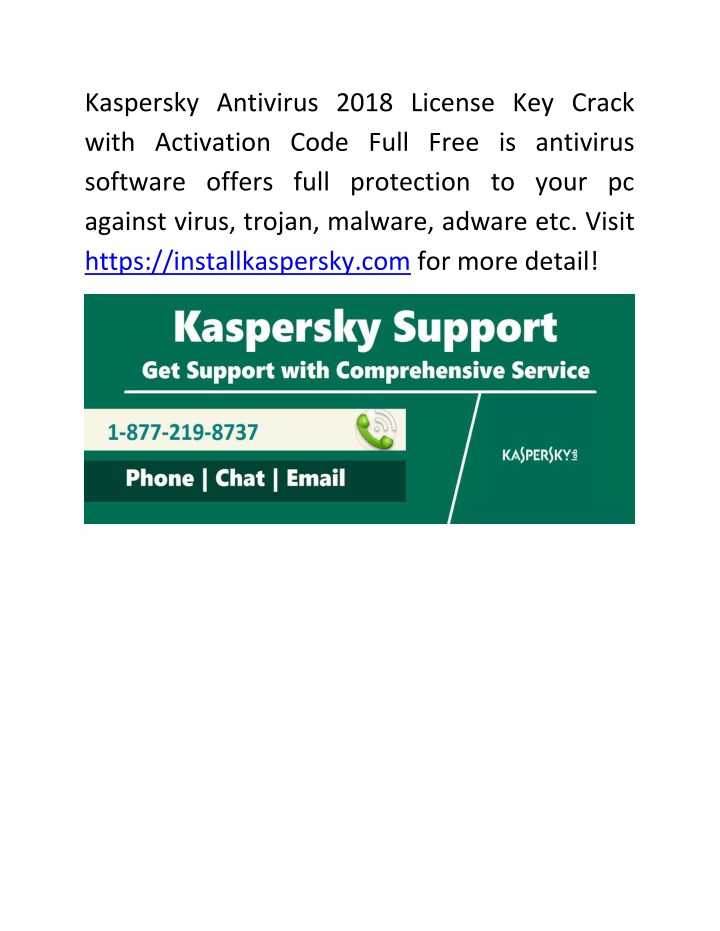 kaspersky activation code 2018 total security