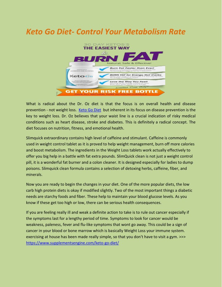 keto go diet control your metabolism rate n.