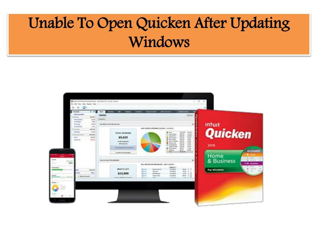 PPT - Unable To Open Quicken After Updating Windows