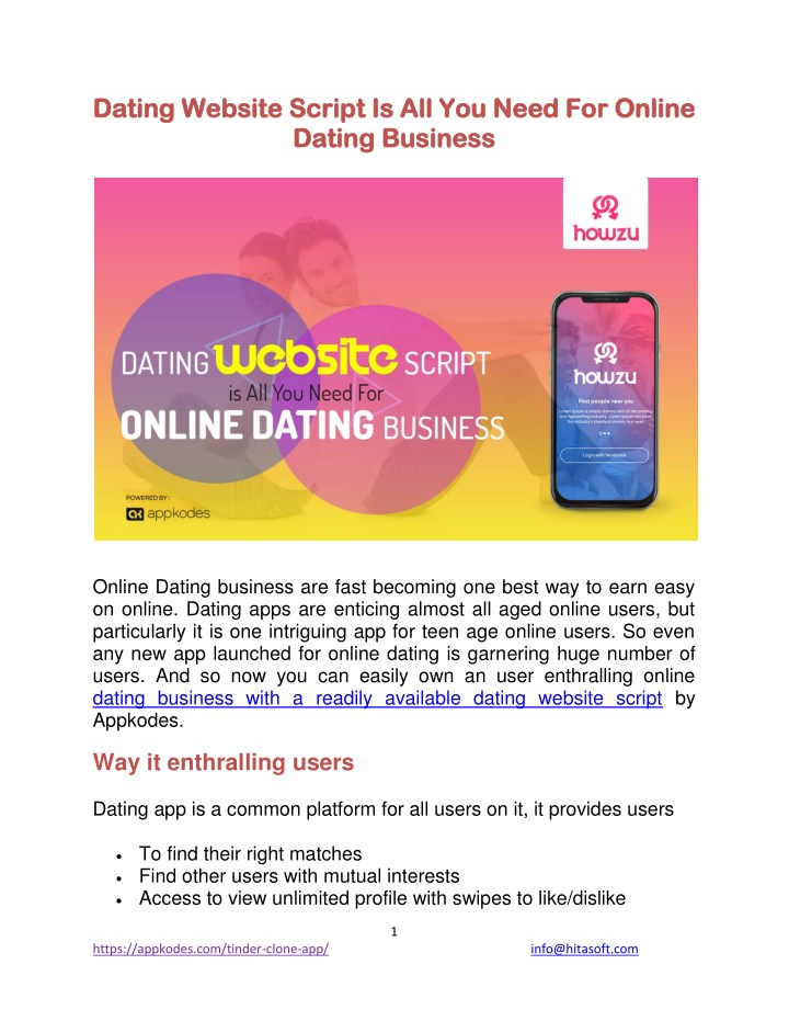 dating id number