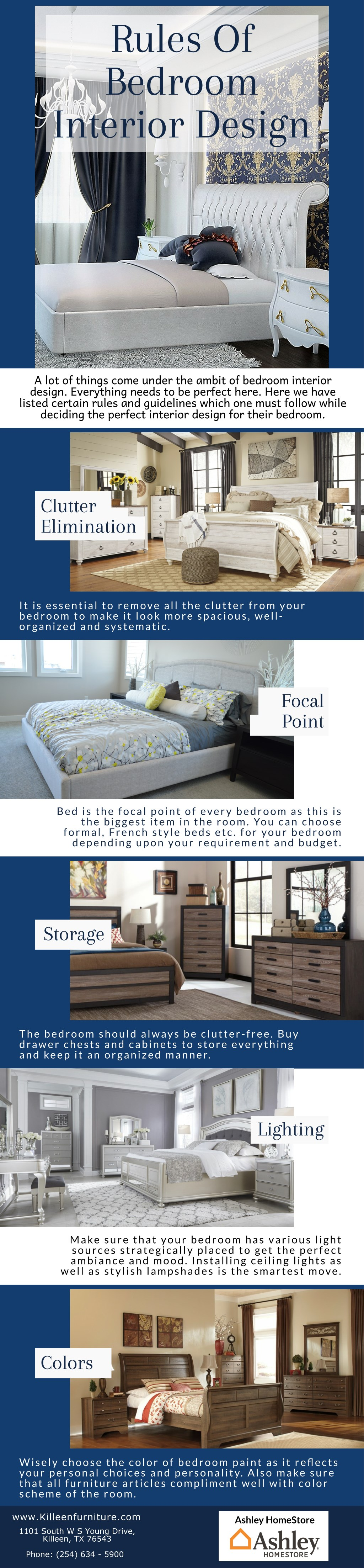 Ppt Rules Of Bedroom Interior Design Powerpoint Presentation Free Download Id 7942363