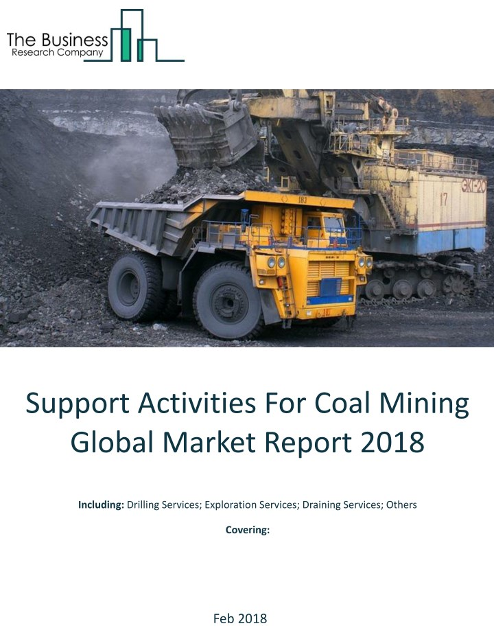 support activities for coal mining global market n.