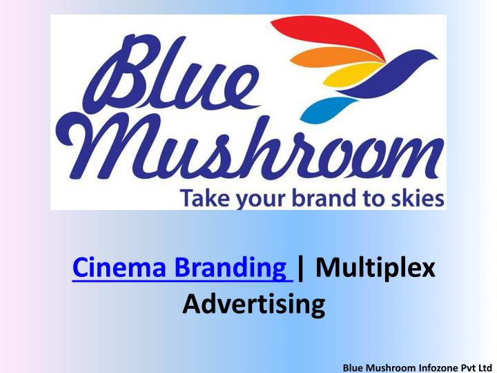 cinema branding multiplex advertising n.