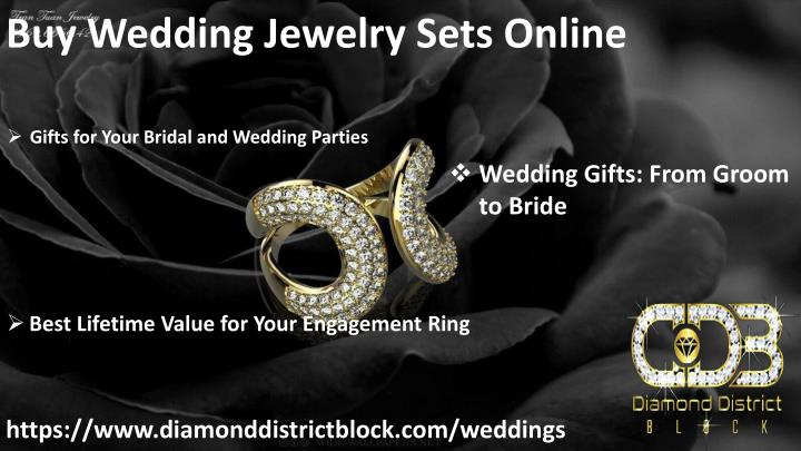 Ppt Buy Wedding Gifts Online Powerpoint Presentation Id7943539