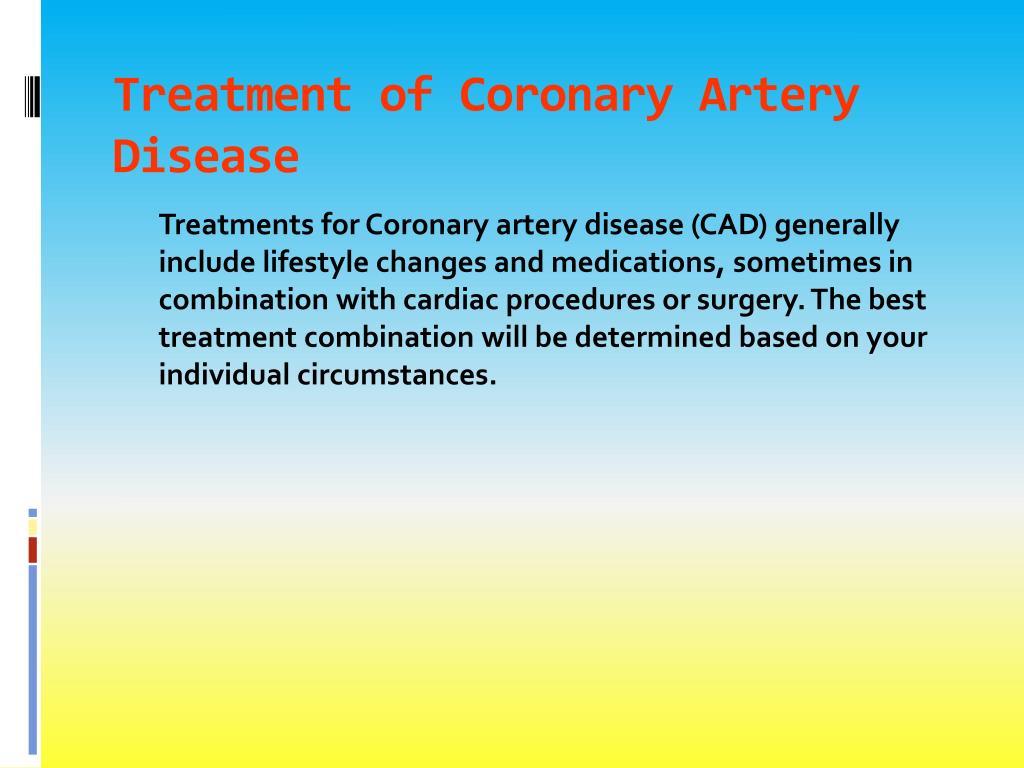 PPT - Coronary Artery Disease PowerPoint Presentation - ID