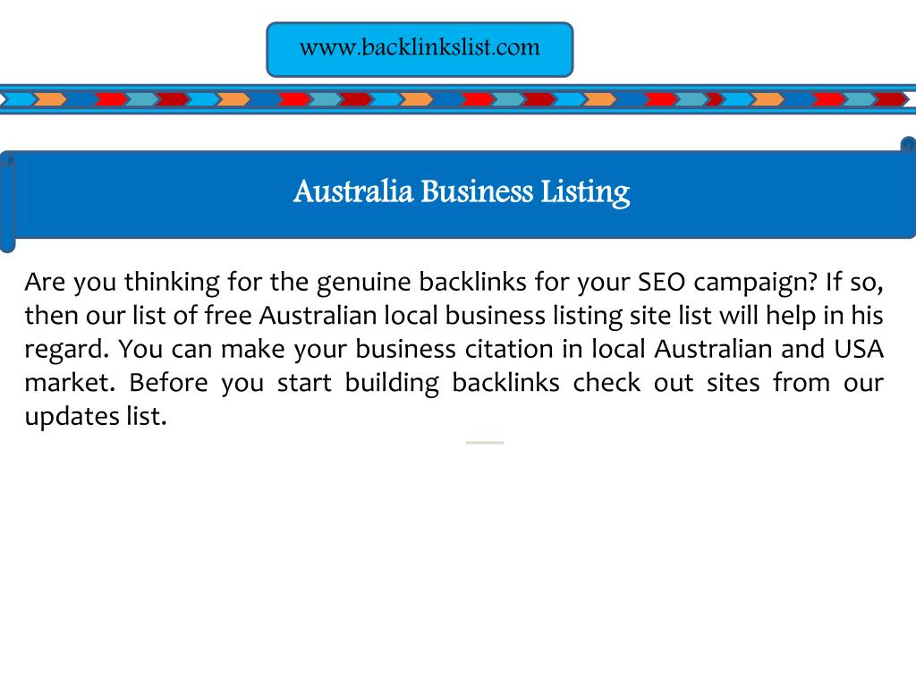 PPT - High PR USA, UK, Australia, India, Germany Business