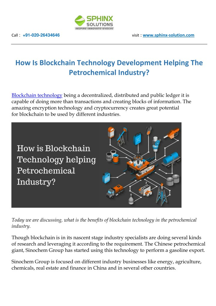 PPT - How Is Blockchain Technology Development Helping The