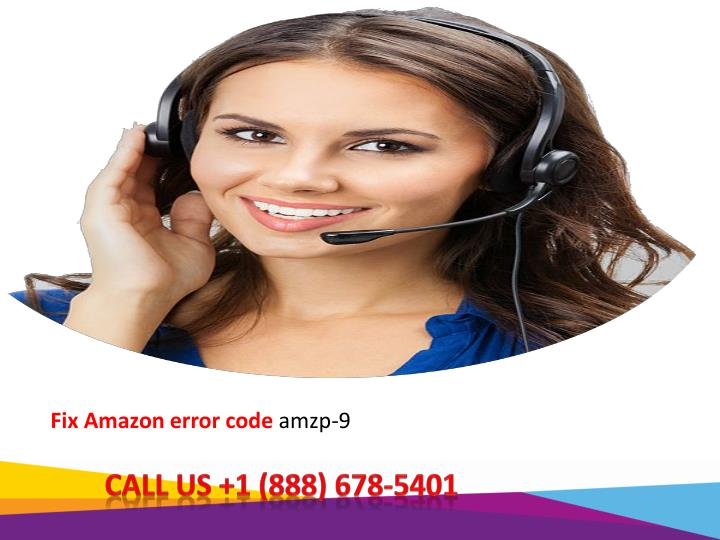 fix amazon error code amzp 9 n.