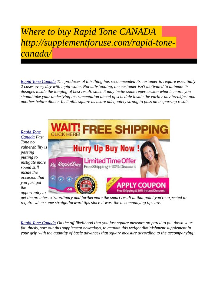 where to buy rapid tone canada http n.