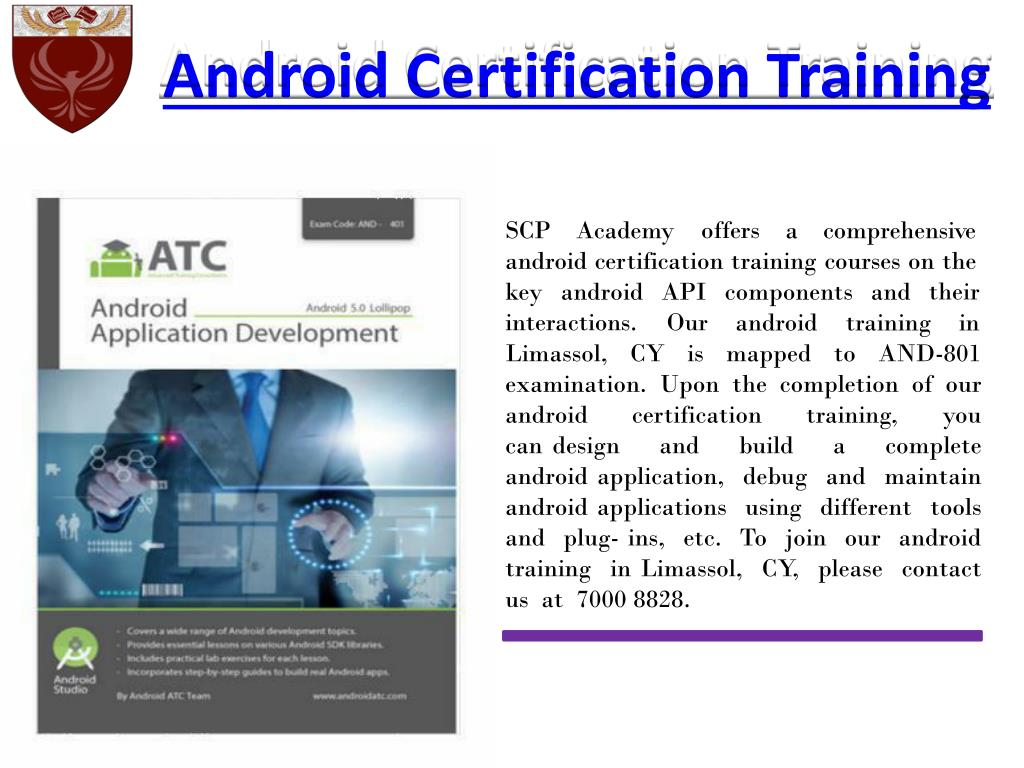 Ppt Android Certification Training Powerpoint Presentation Id