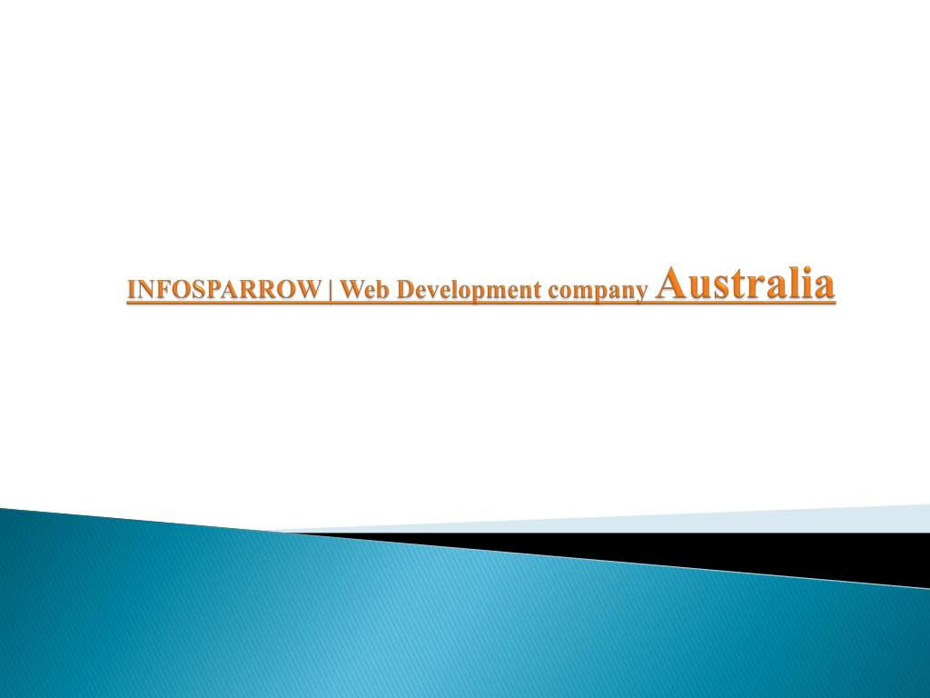 PPT - Digital Marketting Company Australia | Infosparrow