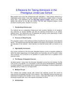 6 reasons for taking admission in the prestigious