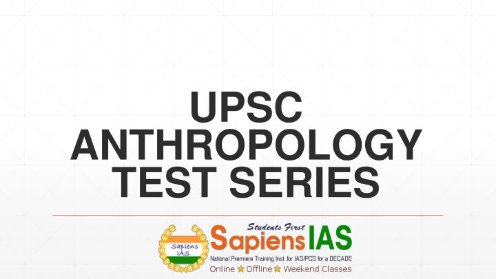 upsc anthropology previous papers Get previous years papers for prelims & mains this forum is for upsc mains previous year question papers please refer anthropology-ii.