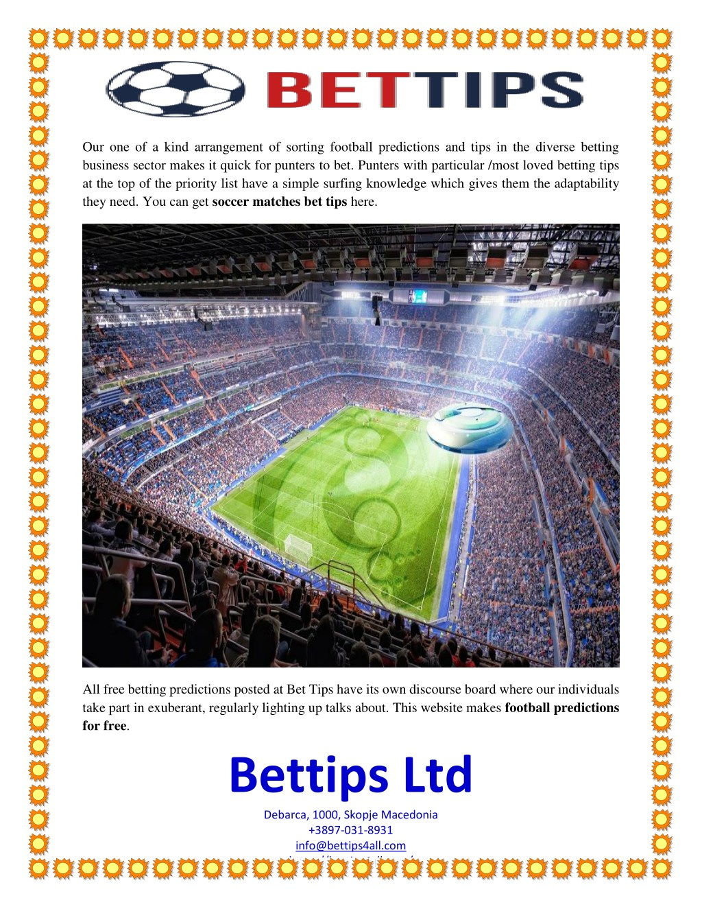 PPT - Bet Tips: Get The Best Match Betting Tips PowerPoint