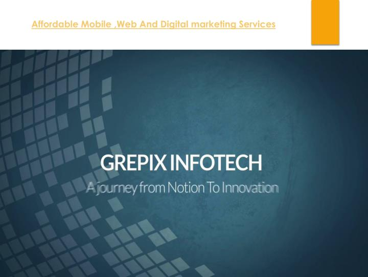 affordable mobile web and digital marketing n.