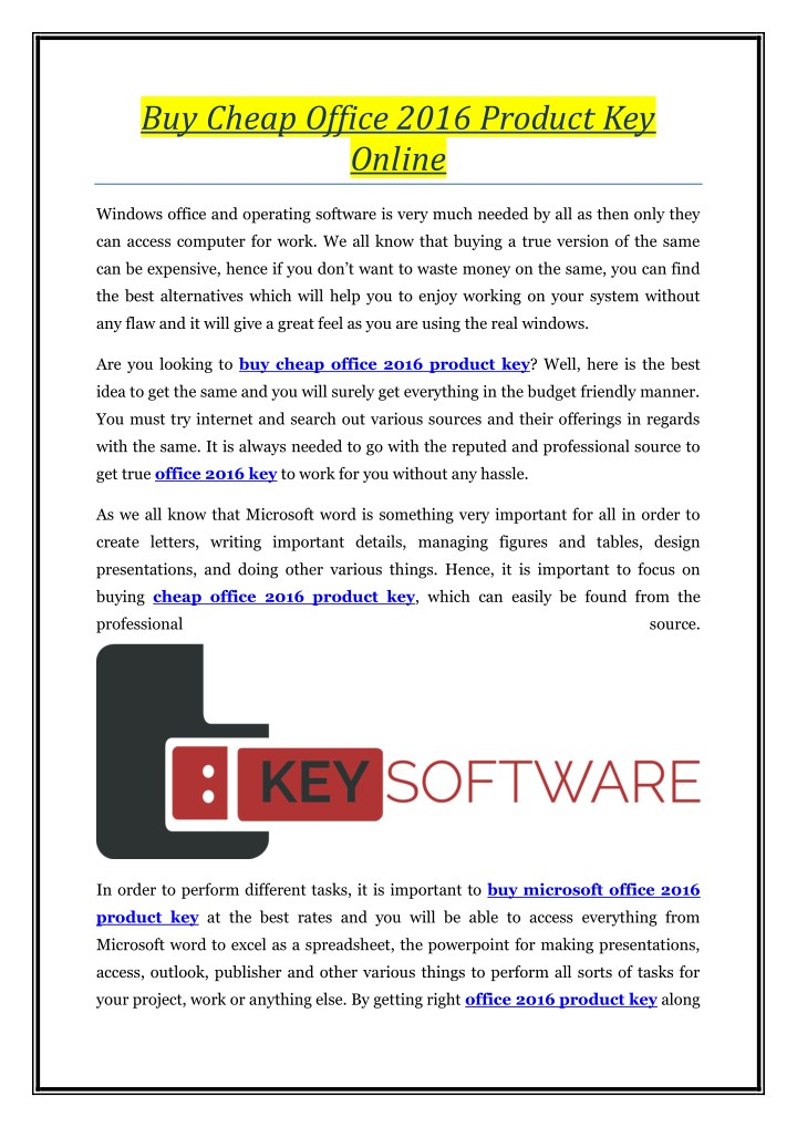 buy software key online