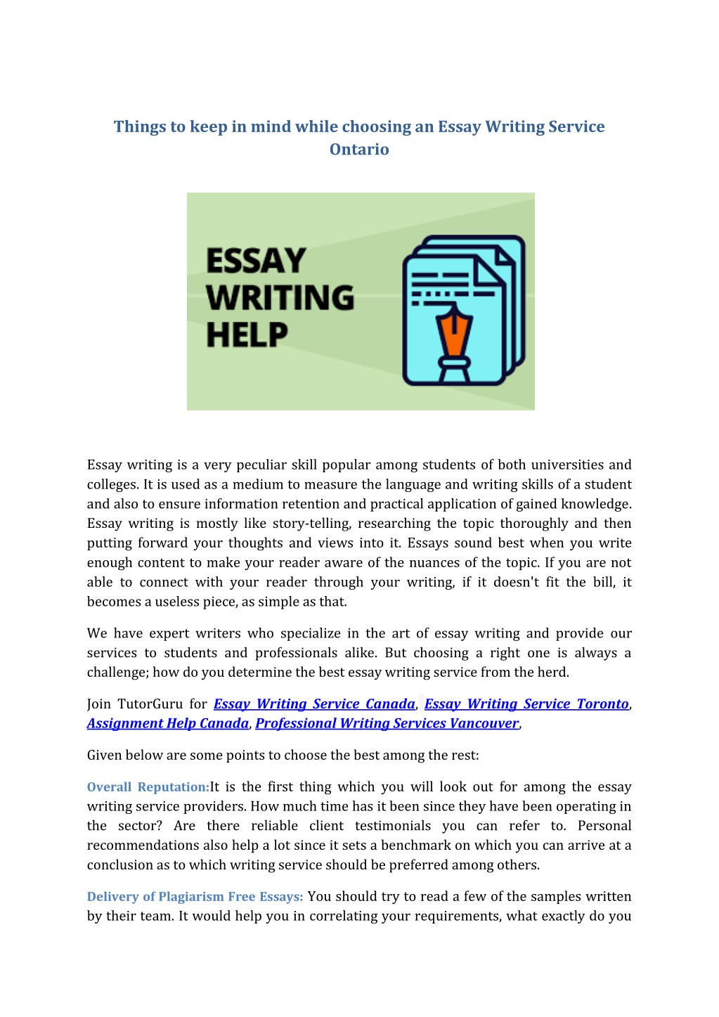 Sample Essay For High School Students Things To Keep In Mind While Choosing An Essay N Marriage Essay Papers also Health Care Reform Essay Ppt  Things To Keep In Mind While Choosing An Essay Writing Service  Thesis In Essay