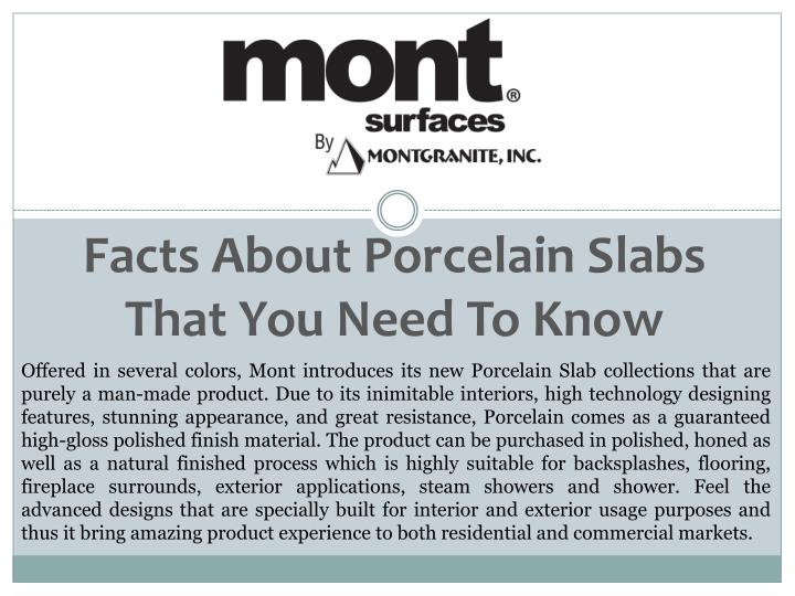 facts about porcelain slabs that you need to know n.