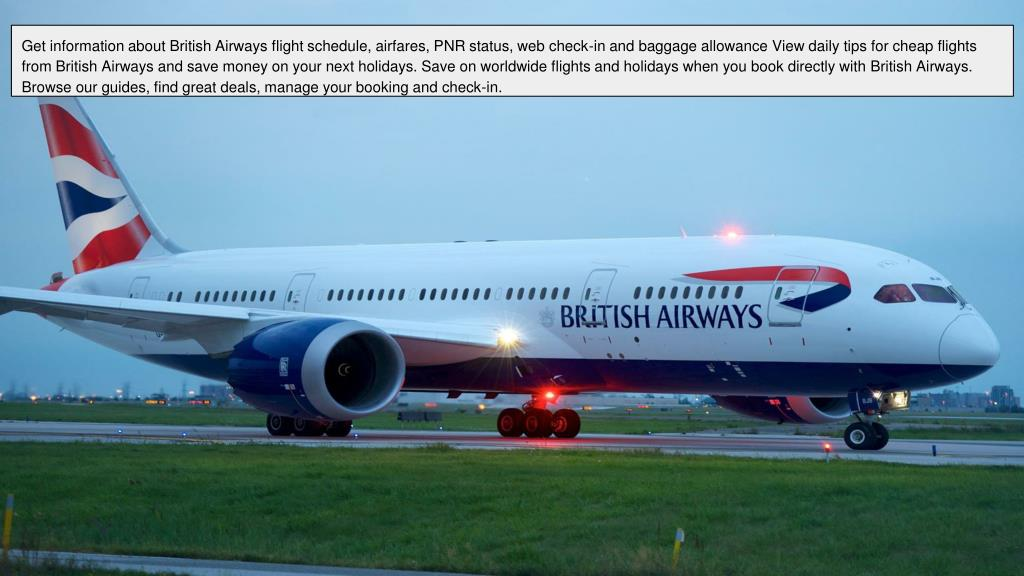 PPT - British Airline Phone Number Call 1-888-441-3622 (Toll Free) PowerPoint Presentation - ID