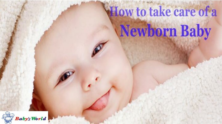 how to take care of new born baby n.