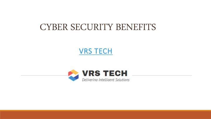 Ppt Complete Cyber Security Services In Dubai From Vrstech