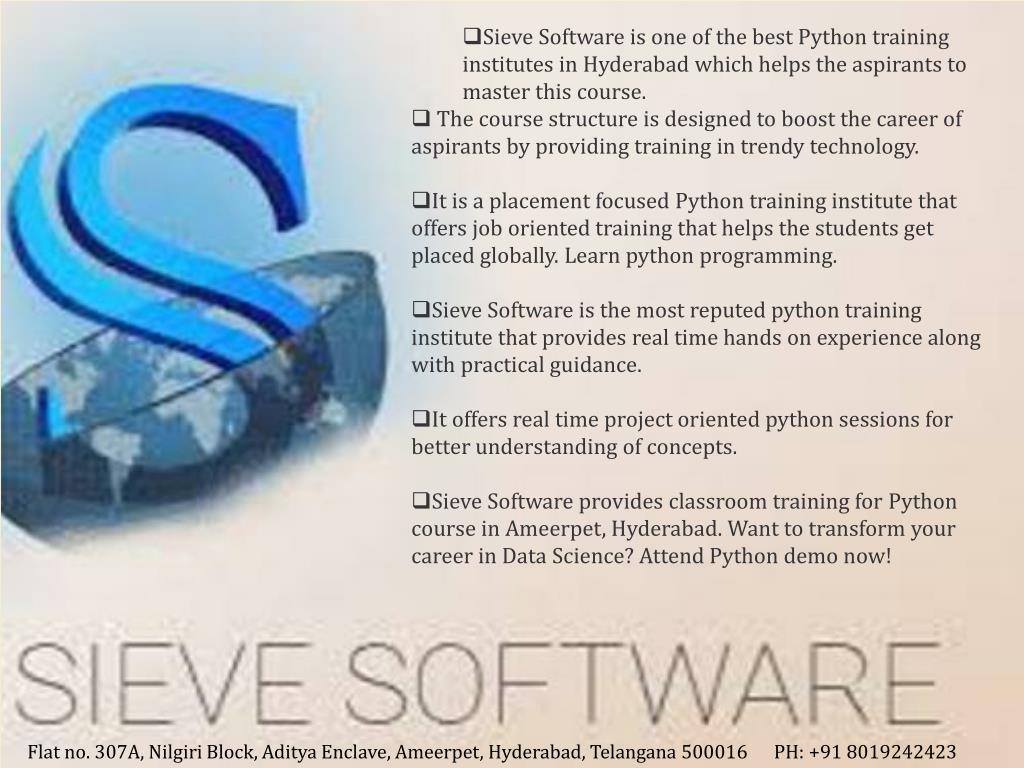 PPT - python Training in hyderabad PowerPoint Presentation