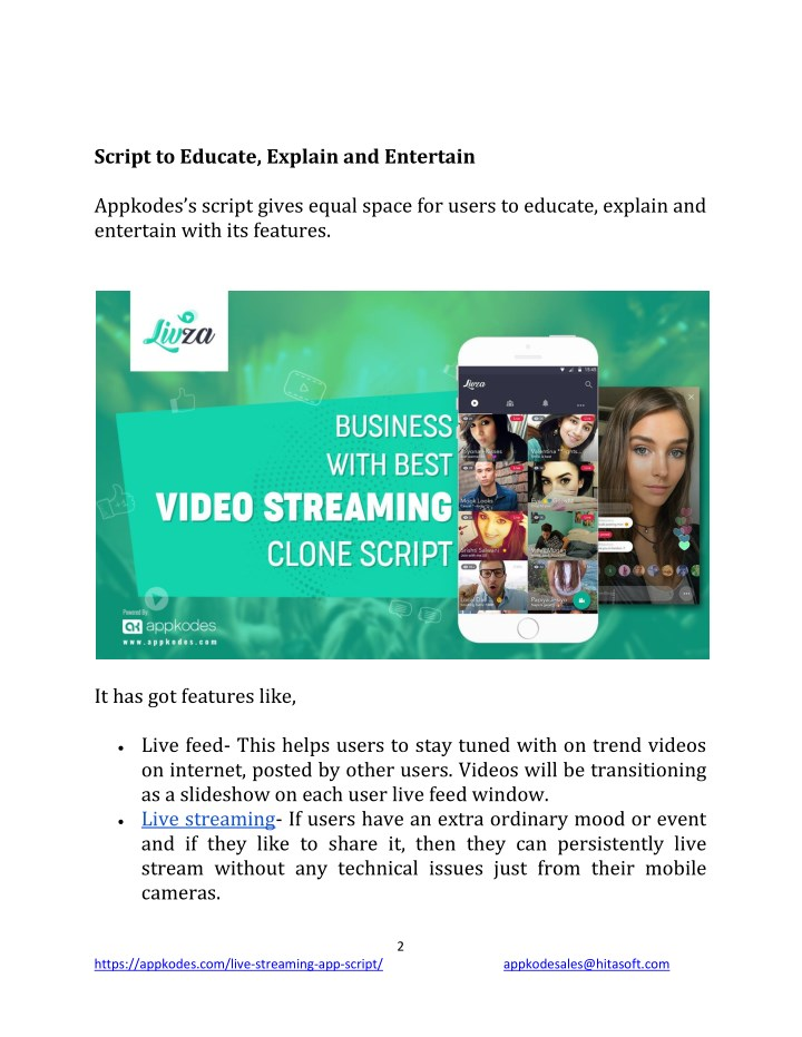 Ppt Educate Entertain Users And Earn Easily With Video Streaming