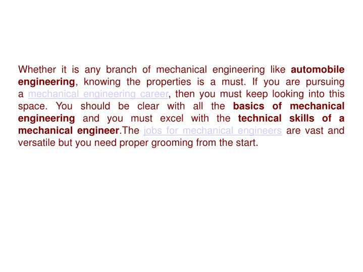 Ppt 17 Engineering Material Properties Mechanical Engineers Must