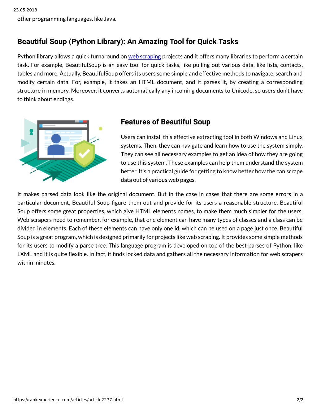 PPT - Semalt: Web Scraping With Beautiful Soup PowerPoint