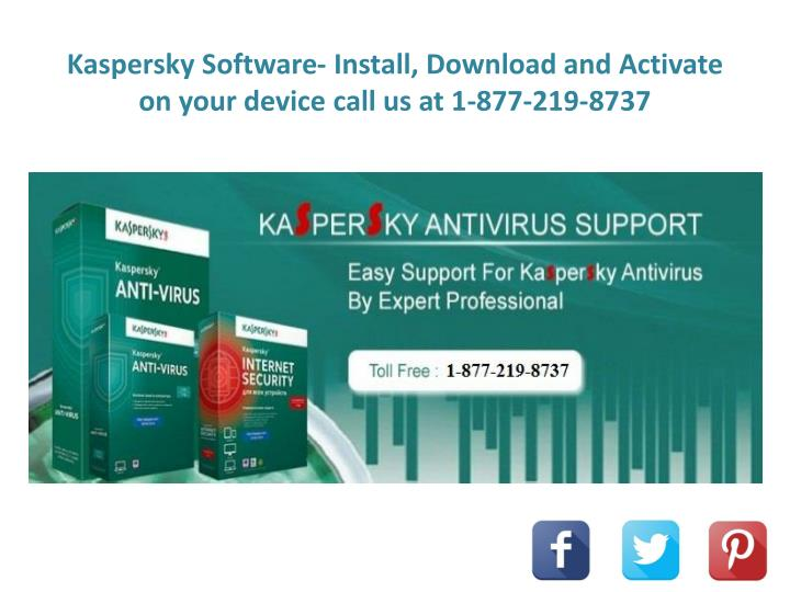 PPT - Kaspersky Software- Install, Download and Activate on