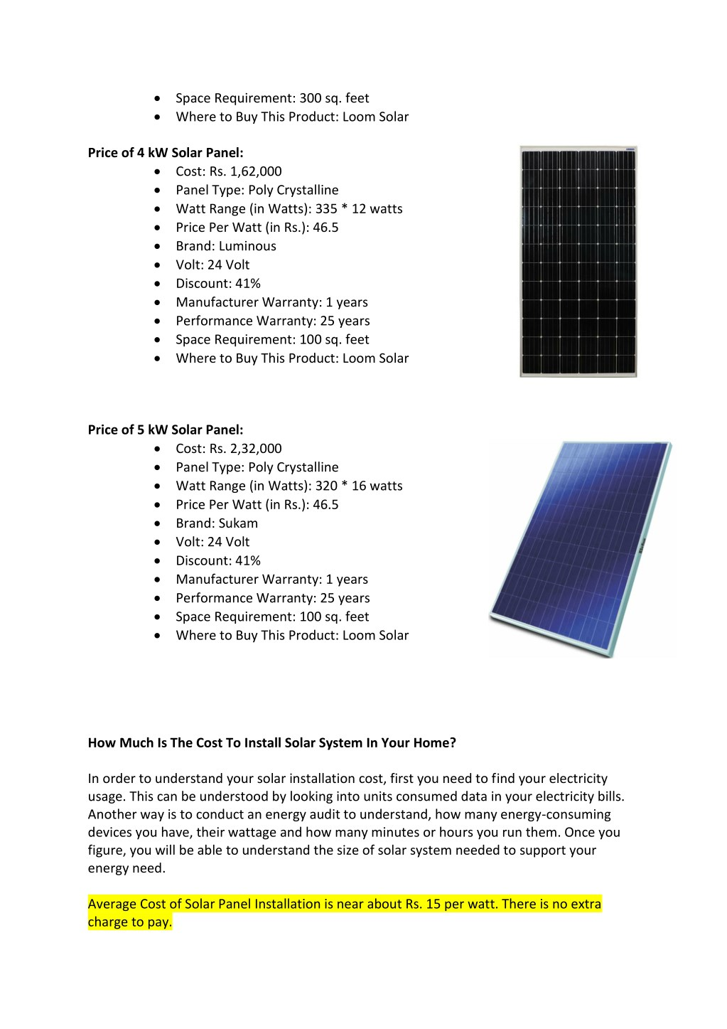 PPT - What Are The Best Solar Panels in India? The Complete