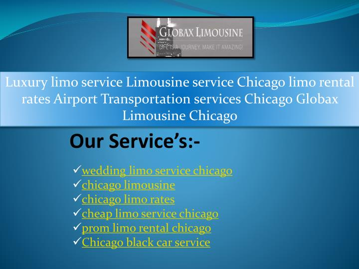 luxury limo service limousine service chicago n.
