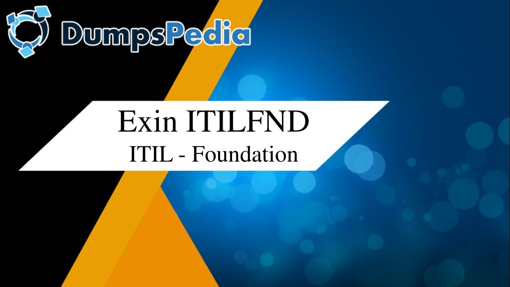 Ppt Itilfnd Exam Dumps Powerpoint Presentation Id7954904