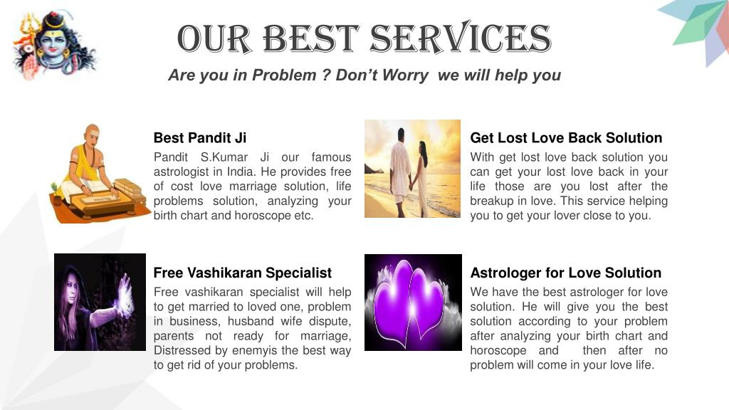 PPT - Get Free Vashikaran Specialist for Love Marriage Solution