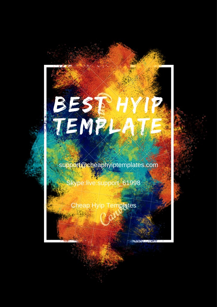 Ppt Best Hyip Template Buy Hyip Template Goldcoders