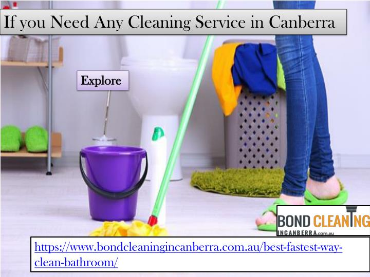 PPT Professional Bathroom Cleaning Service Provider In Canberra - Fastest way to clean a bathroom