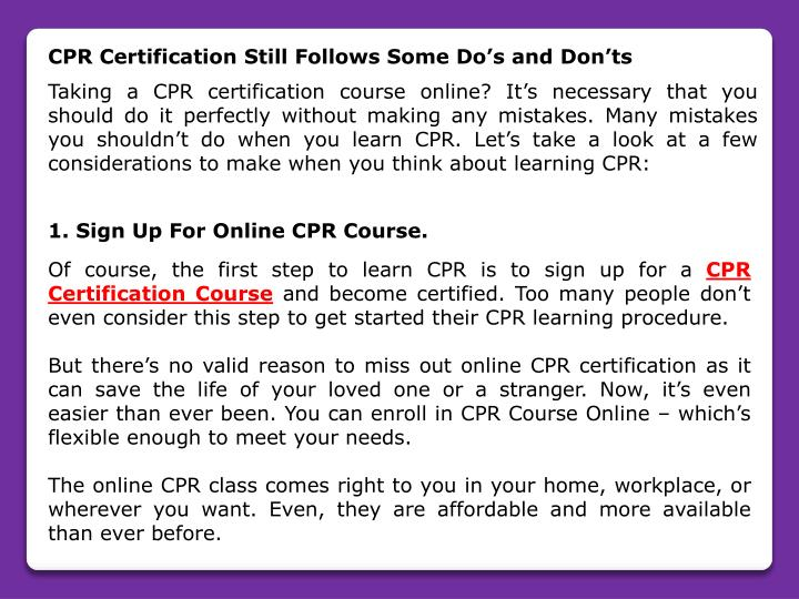 Ppt Cpr Certification Course Powerpoint Presentation Id7958224